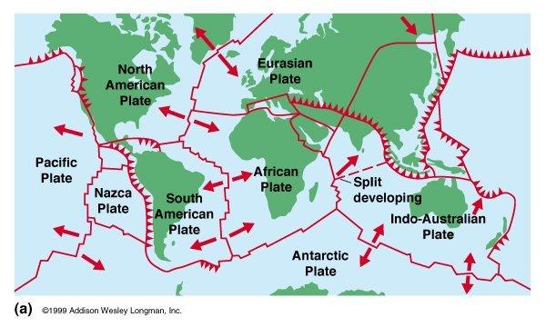 Earth's plate tectonics 2