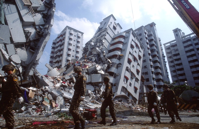 Massive damaging earthquake