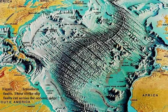 mid-oceanic ridge tectonics