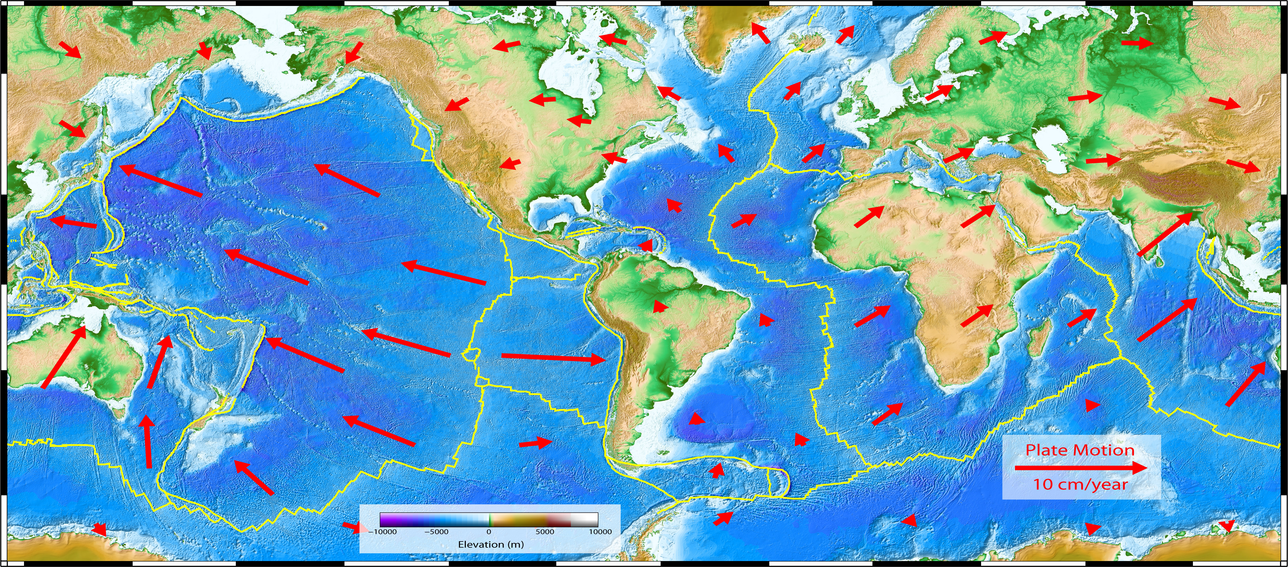 Plate Boundaries C C C Earth And Space