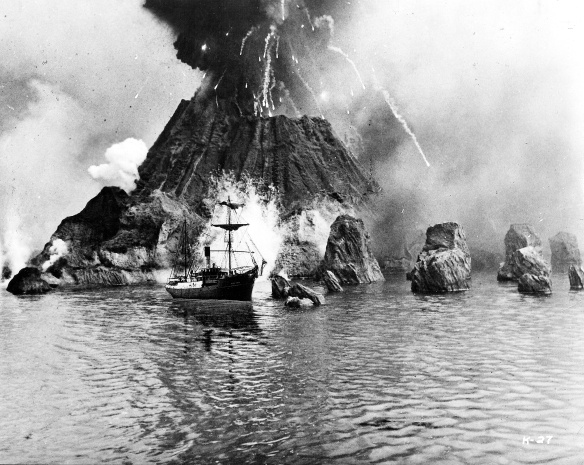 Krakatoa Volcano 1883 eruption