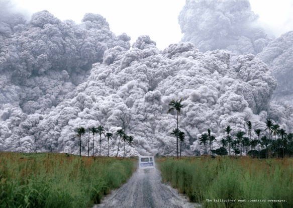 volcanic eruption pyroclastic flow