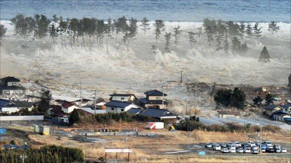Japanese tsunami earthquake 2011