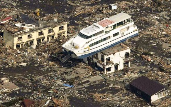 Japanese tsunami earthquake 2011
