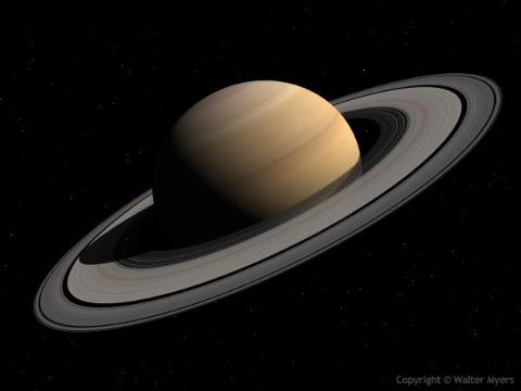 Picture of planet Saturn
