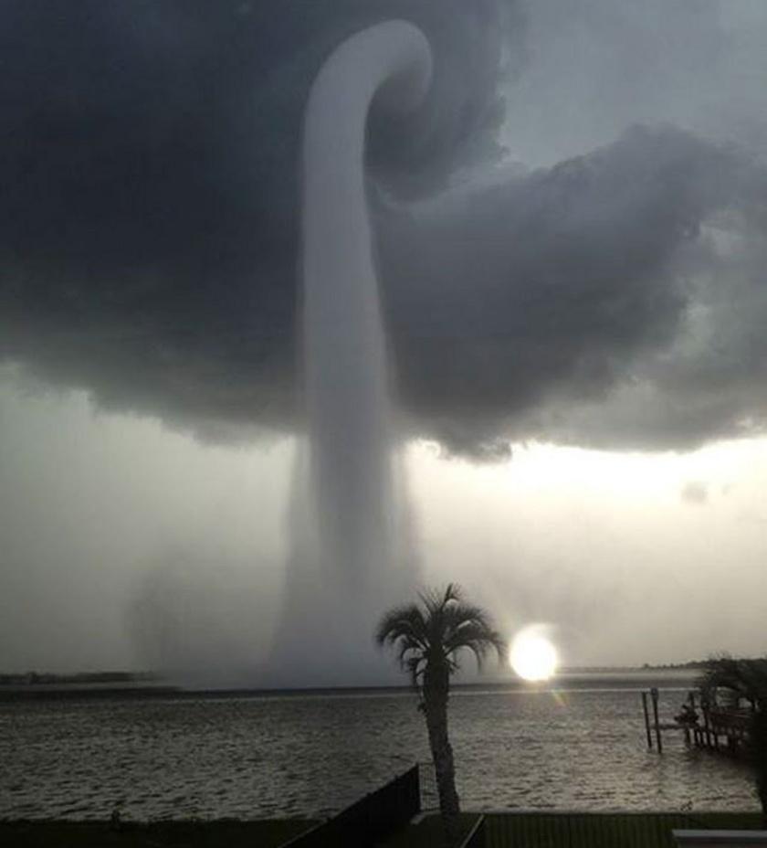 Waterspout, Tampa Florida