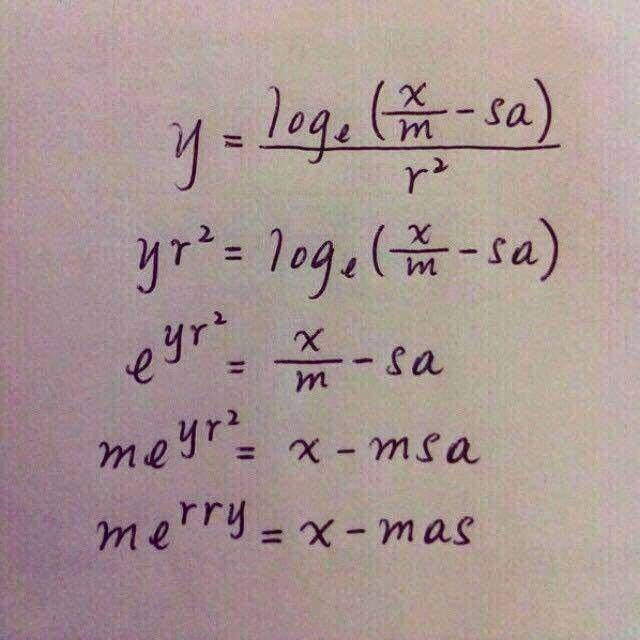Merry Christmas science