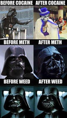 Funny darth vader picture